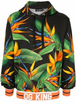 Dolce&Gabbana - худи DG King с принтом Bird of Paradise F9THH3WC956960030000