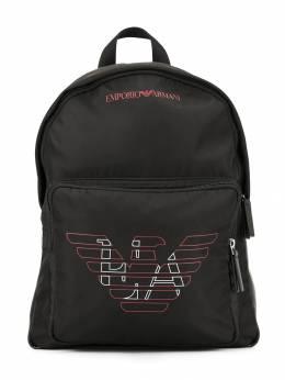Emporio Armani Kids - рюкзак с нашивкой-логотипом 5909A533950355390000