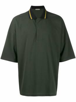 Bottega Veneta рубашка-поло с воротником в полоску 563351VOKG0