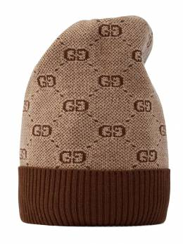 Gucci Kids - шапка бини c узором GG 3065K068950569360000