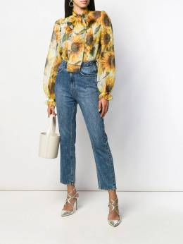 Dolce&Gabbana - блузка с принтом 35THS95J950665950000