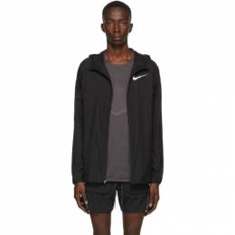 Nike Black Windrunner Jacket 192011M18001003GB