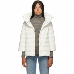 Herno White Down Aminta Jacket 192829F06103805GB