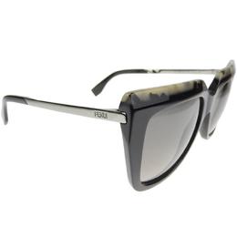 Fendi Beige/Black 0087/S Cat Eye Sunglasses 210278
