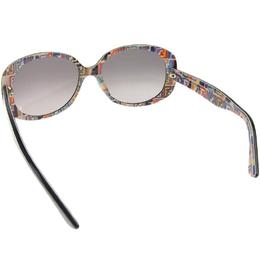 Fendi Black/Multicolor FS5085 Oversized Sunglasses 210281