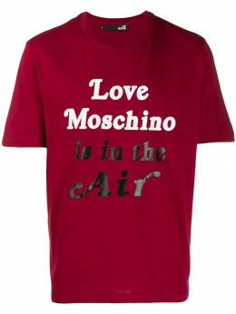 Love Moschino футболка Love Moschino is in the air M47323WM3876