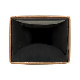 Dries Van Noten Gold Stone Ring 192358M14700401GB