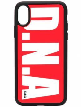Dolce&Gabbana - чехол для iPhone X с логотипом 598AA036959305950000