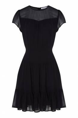 Черное платье из шифона Calvin Klein 596143119