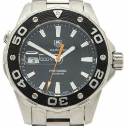 Tag Heuer Black Dial & Bezel Steel Aquaracer Professional Men's Watch 41MM 211871