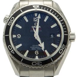 Omega Black Seamaster Planet Ocean 007 James Bond Edition Men's Watch 42MM