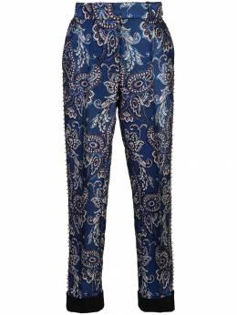 Vera Wang - брюки с вышивкой 9P56BB93996989000000