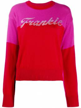 Frankie Morello пуловер с логотипом FWCF9052MA
