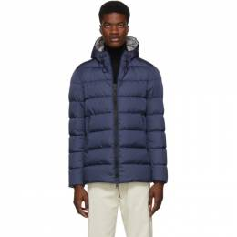 Herno Blue Down Laminar Chamonix Jacket 192829M18000801GB