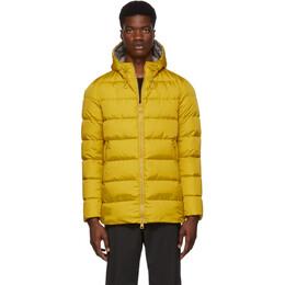 Herno Yellow Down Laminar Chamonix Jacket 192829M18000603GB