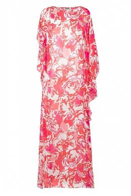 Длинное платье асимметричного кроя Roberto Cavalli 314143253