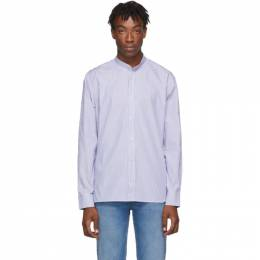 Golden Goose Blue and White Yuji Shirt 192264M19200401GB
