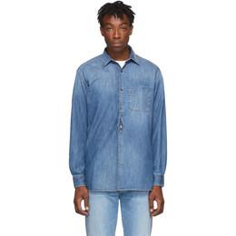 Golden Goose Blue Denim Kei Shirt 192264M19200705GB