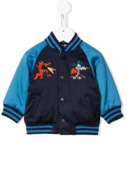 Stella McCartney Kids двусторонняя куртка-бомбер 566304SNK45