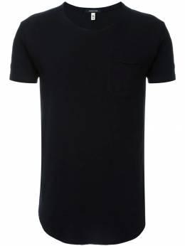 R13 футболка с закругленным подолом R13M000806