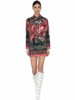 "Платье Из Шелка С Принтом""cheongsam"" F.R.S For Restless Sleepers 70I4T7001-Mjkz0"