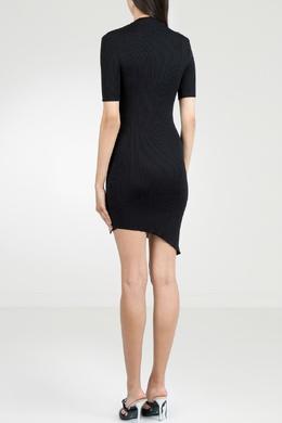 Черное платье из трикотажа Gcds 2981143722