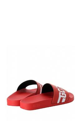 Красные пантолеты с рельефной монограммой Gcds 2981143657