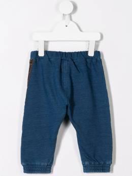 Fendi Kids - спортивные брюки с логотипами FF на лампасах 696A8LD9508859900000