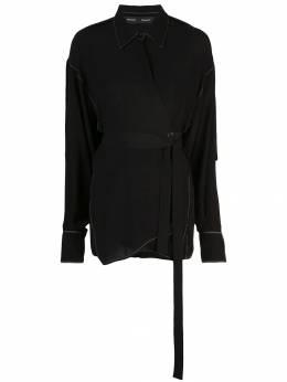 Proenza Schouler блузка с запахом R1944027BY137