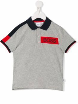 Boss Kids рубашка-поло с логотипом J25E29A07