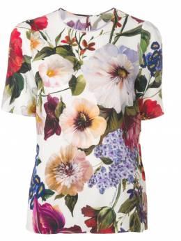 Dolce & Gabbana - блузка с цветочным принтом 03TFSAYR933636300000