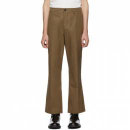 Lemaire Brown Chino Trousers M 193 PA142 LF386