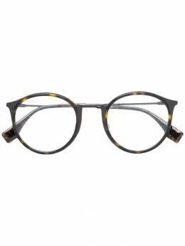 Fendi Eyewear очки в круглой оправе FFM0023