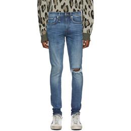 R13 Blue Sid Skinny Jeans 192021M18601108GB