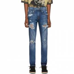 R13 Blue Boy Jeans 192021M18600105GB