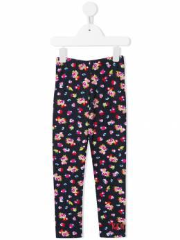 Kenzo Kids - легинсы с цветочным принтом 56689503880900000000