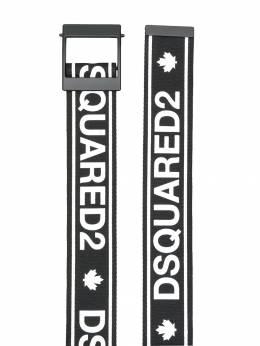 Dsquared2 Kids ремень с логотипом DQ03PKD00WA