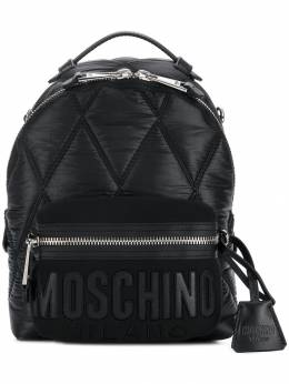 Moschino - front logo mini backpack 65806393959099000000