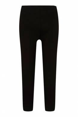 Черные леггинсы с контрастным логотипом Gucci Kids 125683557
