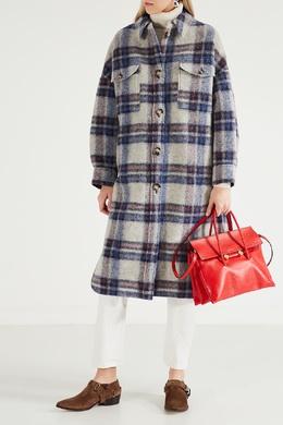 Красная кожаная сумка-тоут Marni 294137365