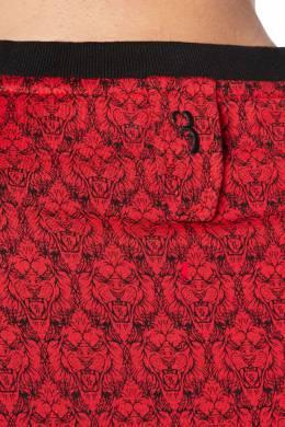 Красная футболка с символикой бренда Billionaire 1668131812