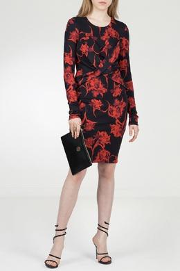 Платье-футляр с драпировкой Roberto Cavalli 314143244