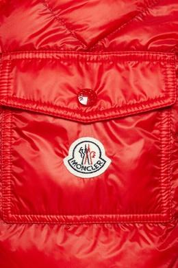 Красная стеганая куртка Moncler 34128087