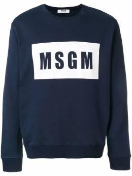 MSGM - толстовка с логотипом 6MM68985098906899350