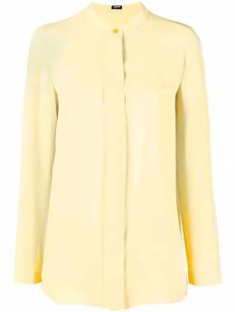 Jil Sander Navy single button blouse JDK319AJK072