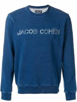 Jacob Cohen logo embroidered sweatshirt J4051R01232W2