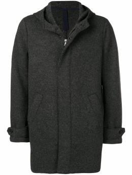 Harris Wharf London - однобортное приталенное пальто 98MLY935999660000000