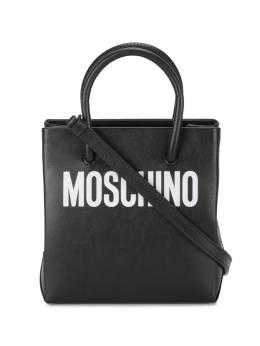 Moschino - сумка-тоут с принтом логотипа 96866990003895000000