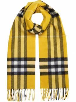 Burberry - кашемировый шарф в клетку 65699089605500000000
