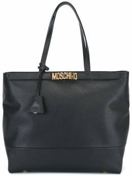 Moschino - сумка-тоут с логотипом 56866399655350000000
